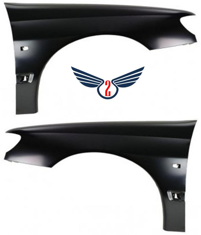 Крыло переднее Peugeot 406 1995-1999