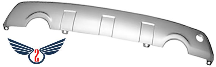 Бампер задний Chevrolet Captiva 2006-2010 (Нижняя Часть)