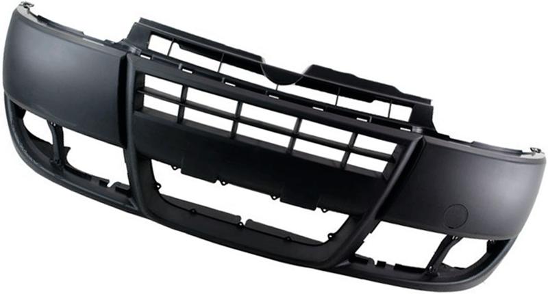 Бампер Fiat Doblo 2005-2009 (Черный)