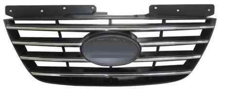 Решетка Hyndai Sonata 2008-2010 (Хромированная-черная)