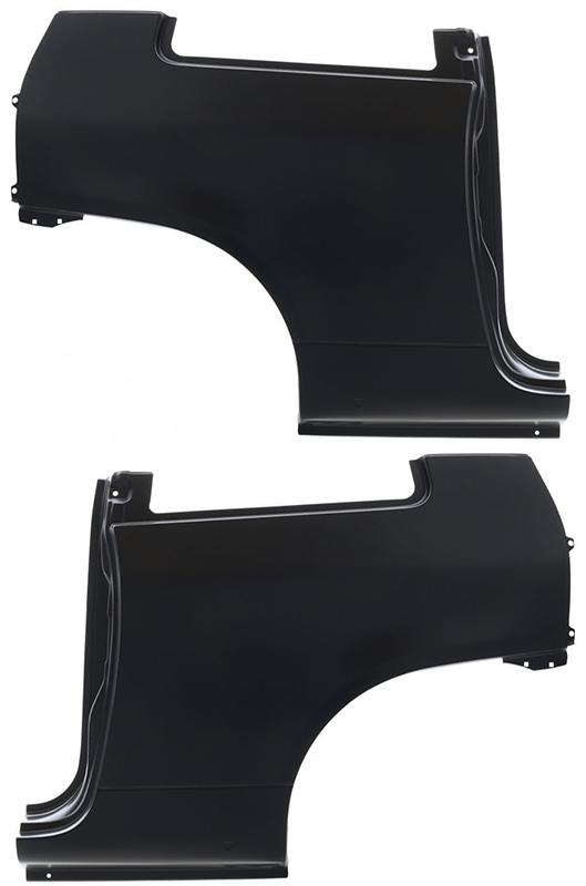 Крыло заднее VW Lupo (6E1) 1998-2005