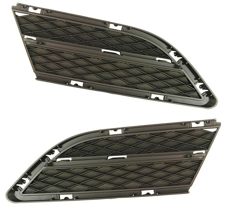 Решетка в бампер BMW (E90) 2008+ (Для версии с галогеном)