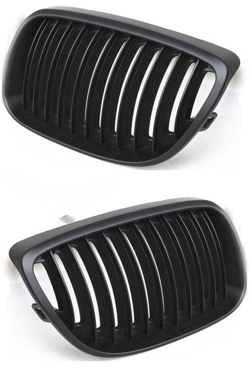 Решетка в бампер BMW (E90) 2008+ (Черный)
