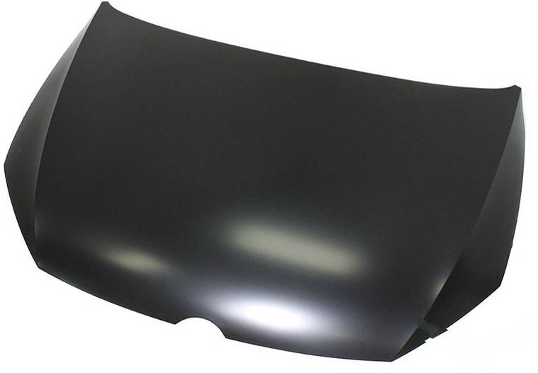 Решетка в бампер BMW (F10/F11) 2010+ (Черный с отверстием для противотуманной фары)