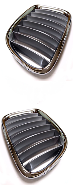 Решетка BMW X1 (E84) 2009+ (Хромированная/Серая)