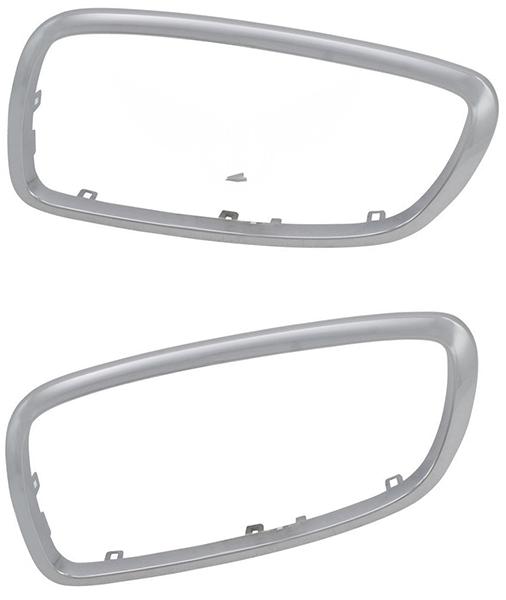 Рамка решетки BMW 7 (E65/E66) (Хромированная)