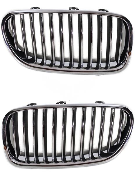 Решетка BMW (F10/F11) 2010+ (Хромированная)