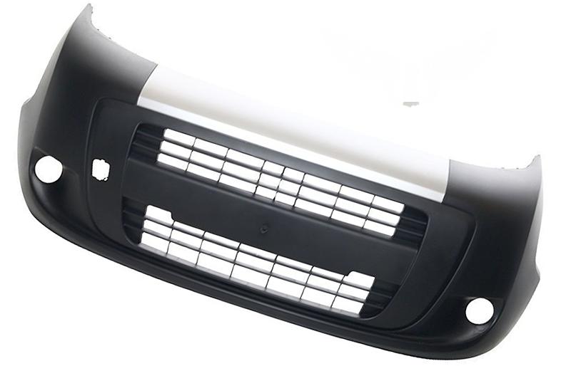 Бампер передний Fiat Fiorino/Qubo 2007+ (С отверстием под галогены)