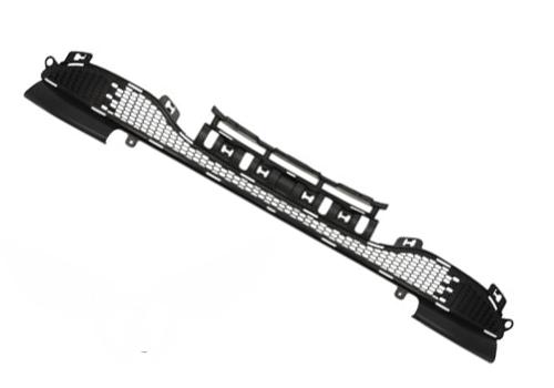 Решетка в бампер Peugeot 208 2012+ (Черный)