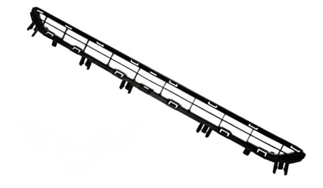 Решетка в бампер Peugeot 3008 2009+ (Нижняя)