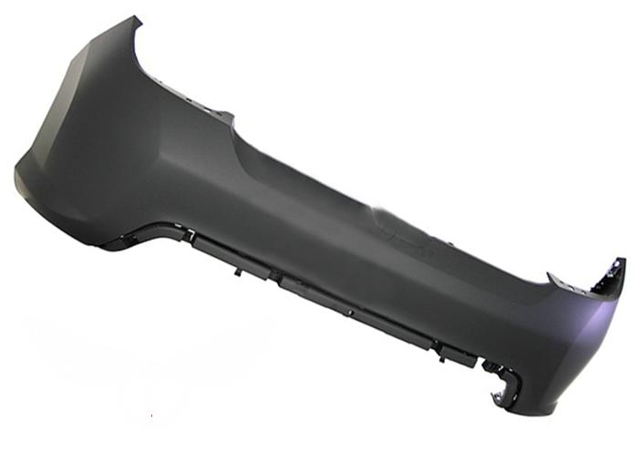 Бампер задний Peugeot 308 2007-2011 (Грунтованный)