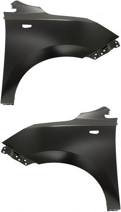 Крило Hyndai ix35 2010+ (С отвором під повторювач повороту)