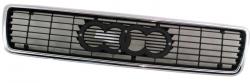 Решітка Audi 80 - 90 1991-1994 (Хромированная чорна)