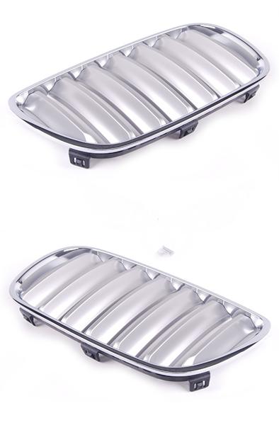 Решетка BMW x3 (E83) 2003-2010 (Хромированная/Титан)