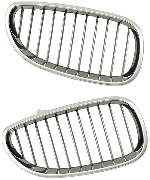 Решетка BMW (E60/E61) 2003-2010 (Хромированная)