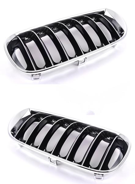 Решетка BMW x3 (E83) 2003-2010 (Хромированная/Черная)