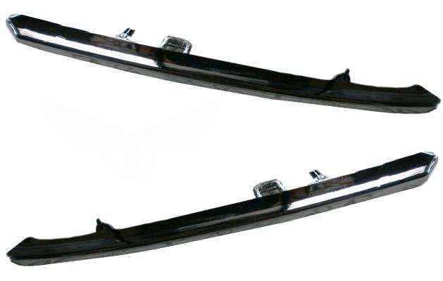 Накладка решетки Mazda 6 (GH) (Верхняя) хромированная